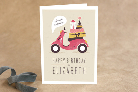 Mod Move Kid's Birthday Greeting Cards