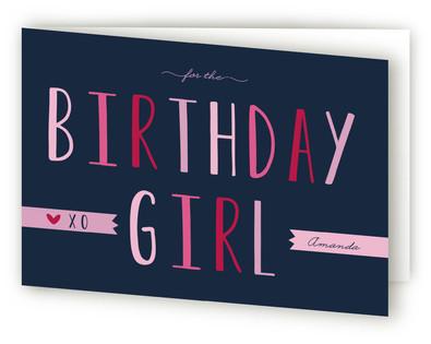 Birthday Girl Kids Birthday Greeting Cards