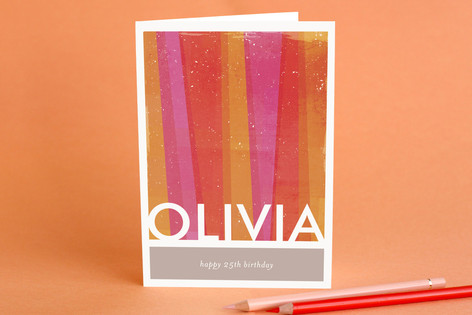 Beaming Birthday Greeting Cards