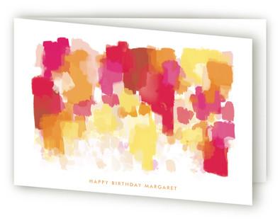 Highway Wildflowers Greeting Cards