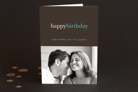 Pop of Color Birthday Greeting Cards
