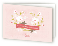 Merci Banner Greeting Cards