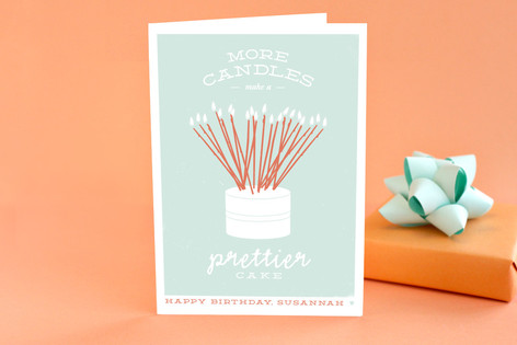 Prettier Cake Birthday Greeting Cards