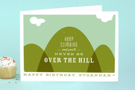 Keep Climbing Birthday Greeting Cards