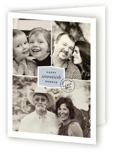 Milestone Postmark Greeting Cards