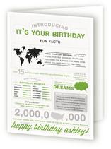 Birthdays & Infographics