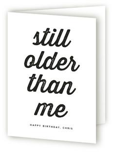 Older than Me Greeting Cards