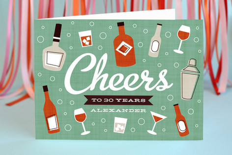 Birthday Cheer Birthday Greeting Cards