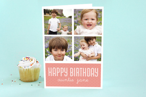 Pretty Points Birthday Greeting Cards