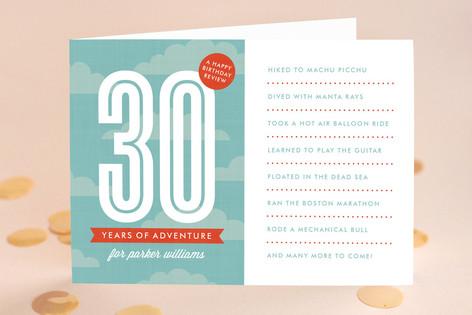 The Adventurous Life Birthday Greeting Cards