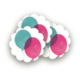 Birthday Balloons by Hooray Creative