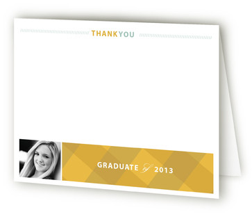 My Journey... Graduation Announcement Thank You Cards