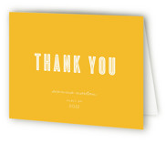 Now and Then Graduation Thank You Cards
