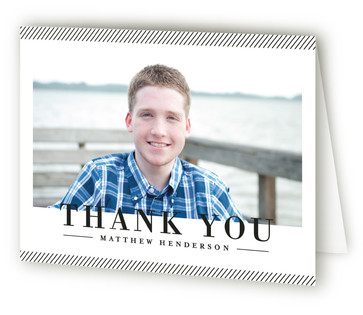 Tradition Graduation Announcement Thank You Cards