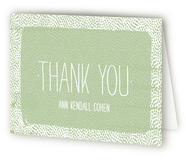 Just Dotty Graduation Announcement Thank You Cards