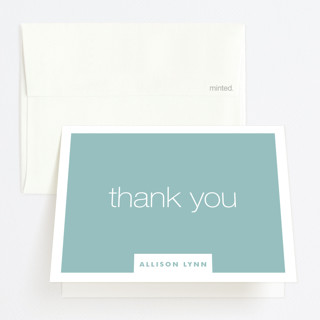 Letting Go Graduation Thank You Cards