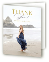 Signed Graduate Graduation Thank You Cards