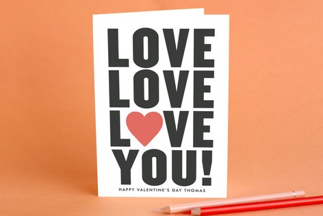 Love You! Valentine's Day Greeting Cards