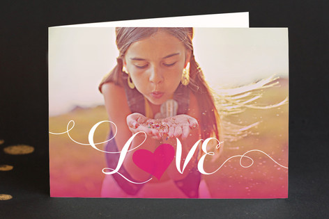 Sunset Valentine's Day Greeting Cards