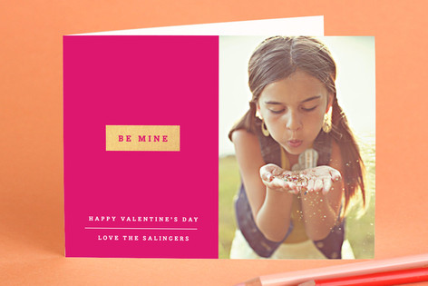 Be Mine Valentine's Day Greeting Cards