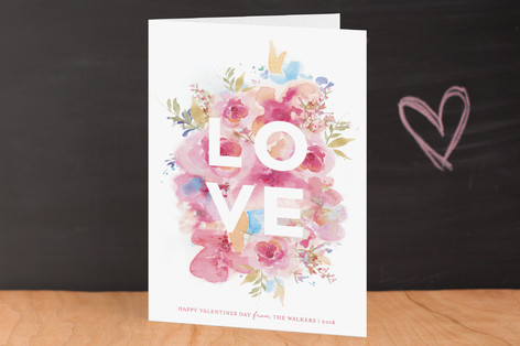 Blooming Love Valentine's Day Greeting Cards