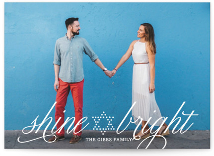 Bright Star Hanukkah Cards