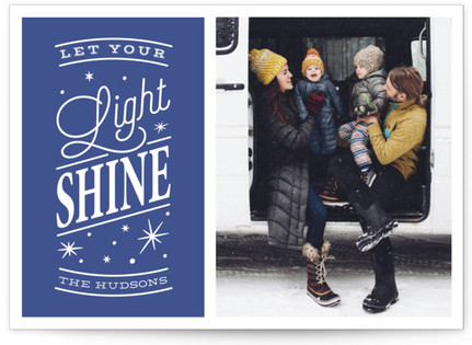 Let your light shine Hanukkah Cards