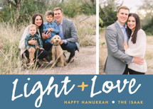 Light Love Hanukkah Cards