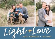 Light Love Hanukkah Cards