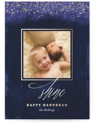Shine Hanukkah Hanukkah Cards