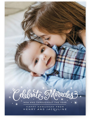 Celebrate Miracles Hanukkah Cards