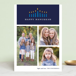 Candlelight Hanukkah Cards