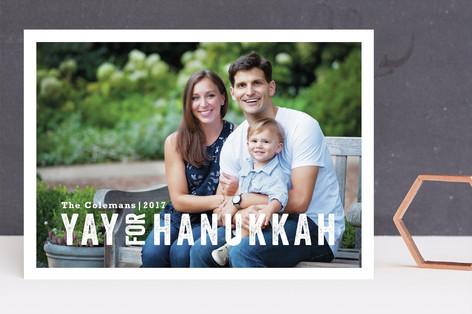 Yay for Hanukkah Hanukkah Cards