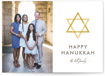 Shining Star Hanukkah Cards