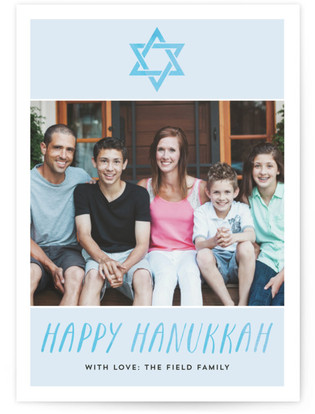 Hanukkah Watercolor Hanukkah Cards