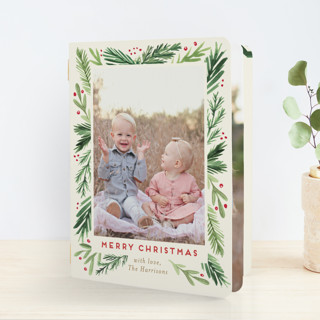 Branches Framed Holiday Booklette Cards