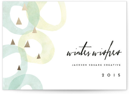 Peaceful Business Holiday Cards