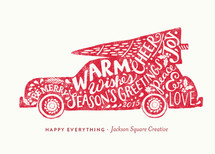 Woodstock Business Holiday Cards