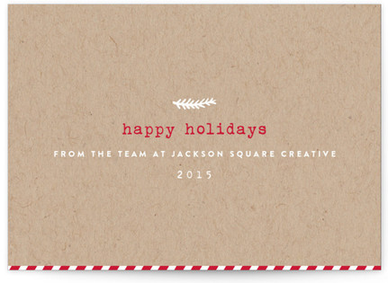 Posted Greetings Business Holiday Cards