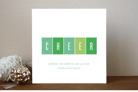 Polished Cheer Business Holiday Cards