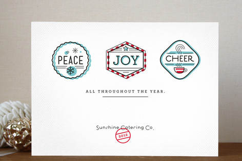 Peppermint Pro Business Holiday Cards