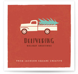Holiday Delivery Truck