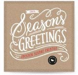 Seasons Greetings by Griffinbell Paper Co.