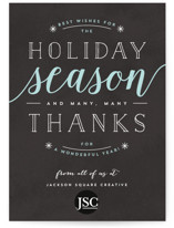 Thankful Holiday Wishes