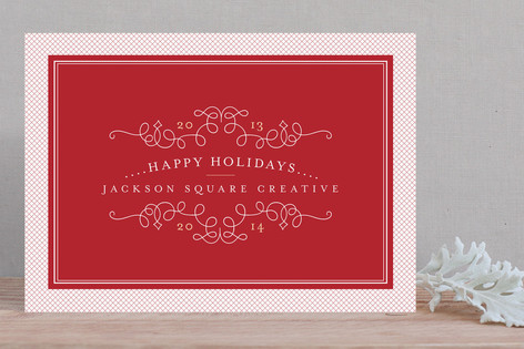 Classic Collage Business Holiday Cards