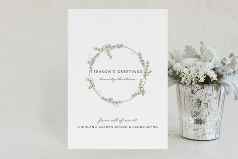 Festoon Business Holiday Cards