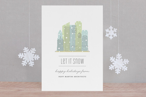 City Flurry LA Business Holiday Cards