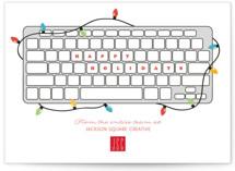 Keyboard Greetings by Korry Brown