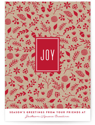 Boxed Joy Business Holiday Cards