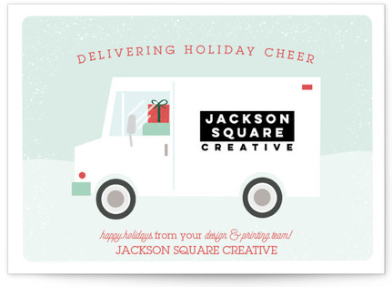 Delivering Holiday Cheer Business Holiday Cards